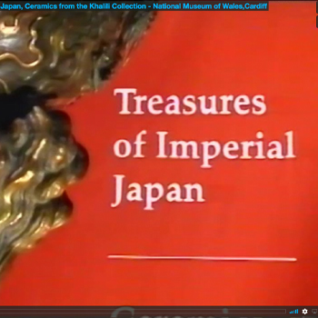 Treasures Of Imperial Japan exhibition at the national museum of Wales
