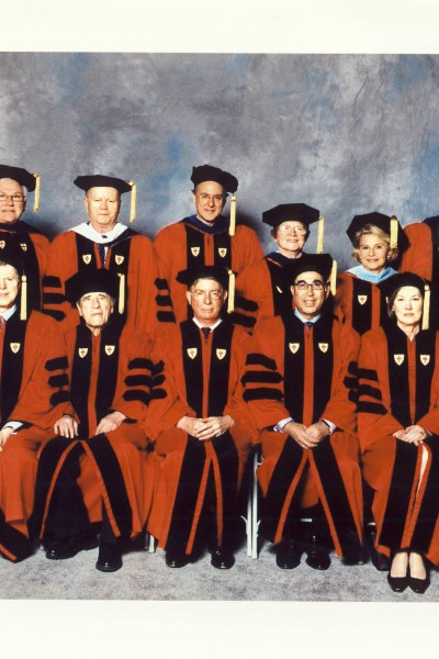 Receiving Honorary Degree Doctor of Humane Letters - Boston University, 2003.