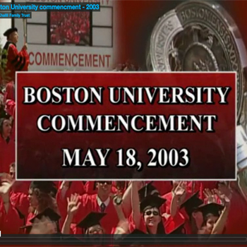 Boston University Commencement
