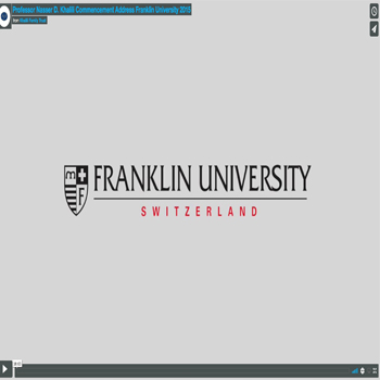 Honorary Doctor – Franklin University Lugano
