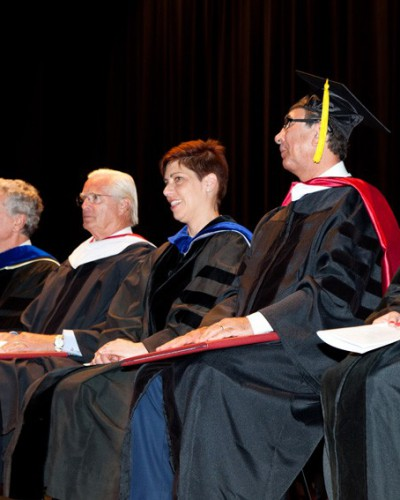 Ceremony to Receive Honorary Degree, Doctor of Humanities Franklin University, Lugano, Switzerland May 2015