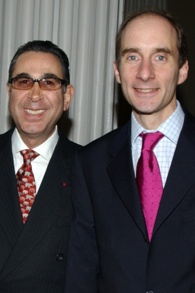 With Lord Adonis, former Parliamentary Under-Secretary (Department for Education and Skills). London 2005
