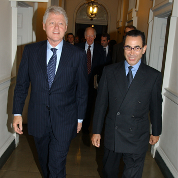 Somerset House Exhibition – Private Tour with President Clinton
