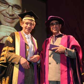 Honorary Doctor from the University of the Arts