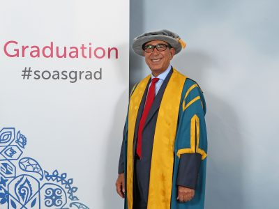 Professor Khalili received his PhD in Islamic Lacquer from SOAS in 1988