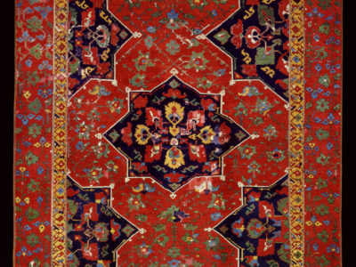 Carpet with Star Medallions, Ushak, western Anatolia, Turkey, late 15th or early 16th century