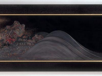 'Waves' Panel, Japan, 1888-1890