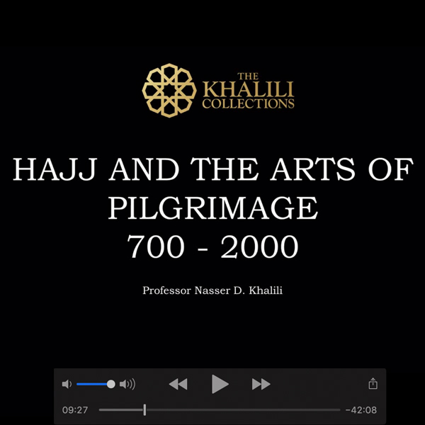Lecture at Oxford Centre for Islamic Studies, Hajj and The Arts of Pilgrimage 700 – 2000, 26 February 2020